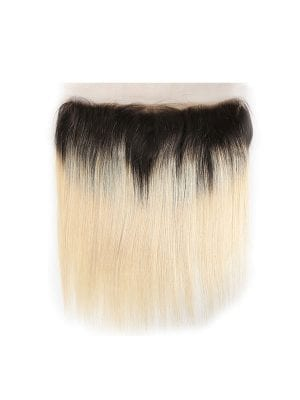 2-Tone 1b/613 Blonde Straight Lace Frontal