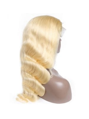 Transparent Lace Body Wave Russian Blonde Wig (613)