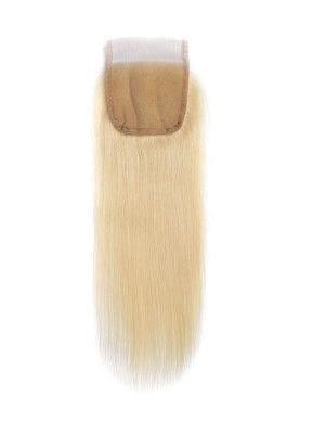 Russian Blonde Straight 4*4 Closure