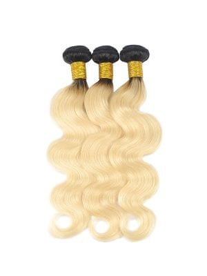 2-Tone 1b/613 Russian Blonde Body Wave Bundle Deals