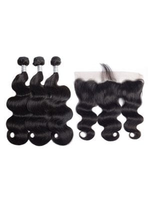 Malaysian Body Wave (9A) Bundles + Frontal