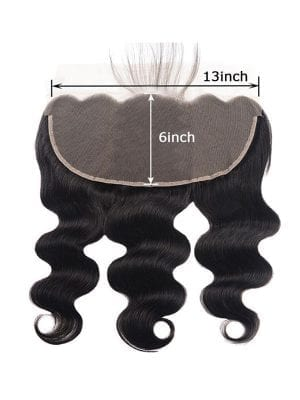 13*6 Lace Frontal Body Wave