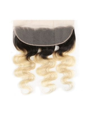 2-Tone 1b/613 Blonde Body Wave Lace Frontal
