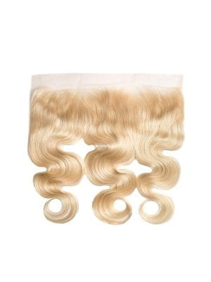 Russian Blonde Body Wave 13*4 Frontal