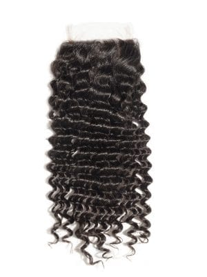 4*4 Lace Closure Jerry Curly