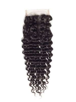4*4 Lace Closure Deep Wave