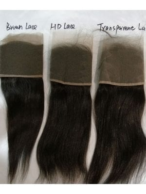 4*4 HD Lace Closure 8 TEXUTRES AVAILABLE