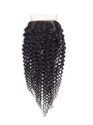 4*4 Lace Closure Kinky Curly