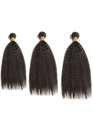 Brazilian Kinky Straight 10A 3 Bundle Deal