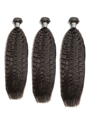 Malaysian Kinky Straight 9A 3 Bundle Deal