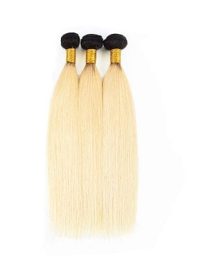 2-Tone 1b/613 Russian Blonde Straight Bundle Deals