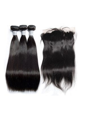 Malaysian Straight (9A) Bundles + Frontal
