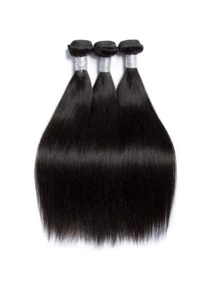 Malaysian Silk Straight 9A 3 Bundle Deal