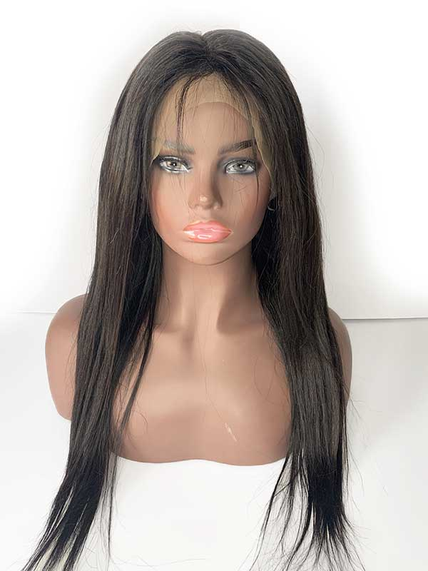 straight lace front wig