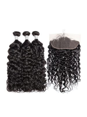 Malaysian Water Wave (9A) Bundles + Frontal