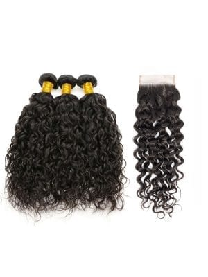 Brazilian Water Wave (10A) Bundles + Closure