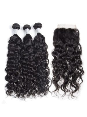 Malaysian Water Wave (9A) Bundles+Closure