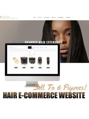 hair business website