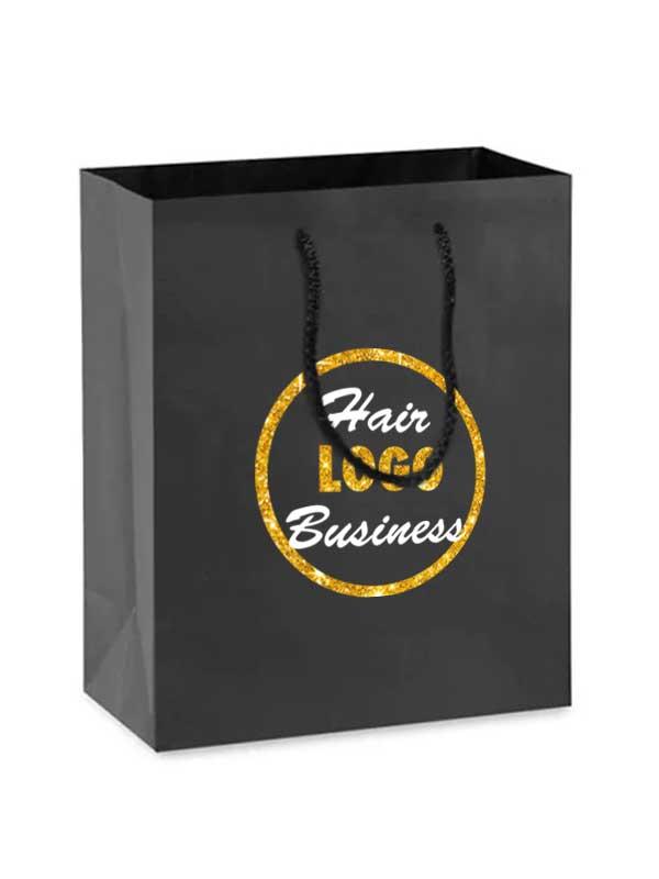 hair business shopping bag