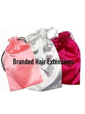 Soft Satin Hair Bag With LOGO