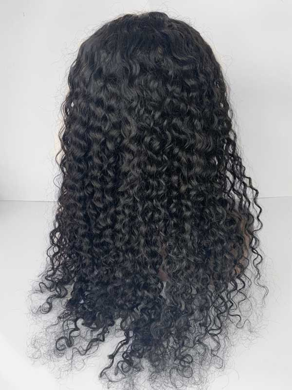 deep curly wig back