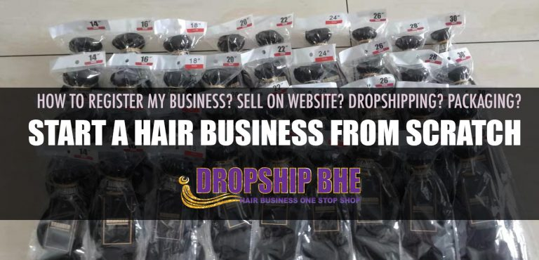 How to start a hair extensions business from scratch