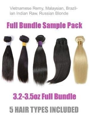Wearable Samples(5 Hair Types/Full Bundle)