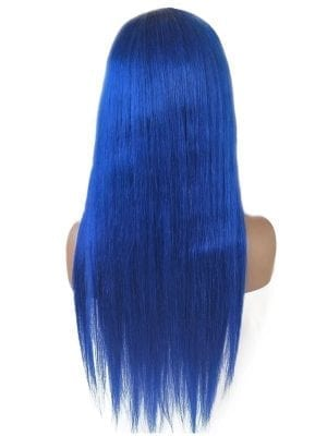 Icy Blue Lace Wig Straight