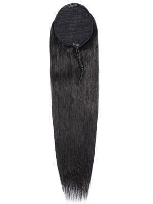 Silk Straight Drawstring Ponytail