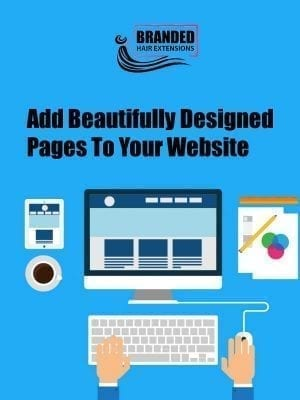 Add Beautifully Designed Pages To Website
