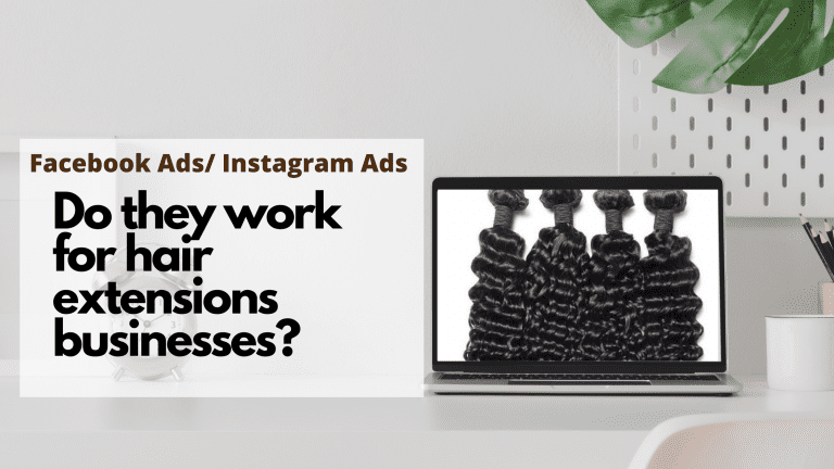 Do Facebook Ads work for hair extensions business?