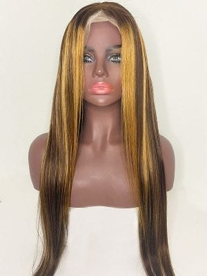 Blonde Highlight Wigs