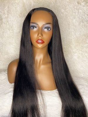 Silk Straight U-Part Wig