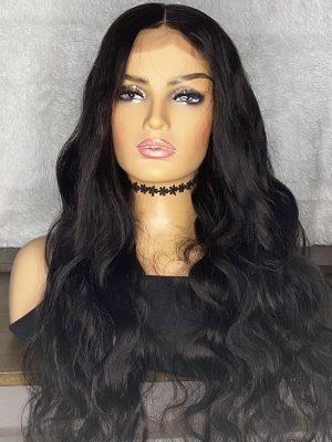 Transparent Lace 4×4 Closure Wig Brazilian Body Wave